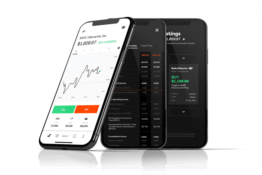Stake review app